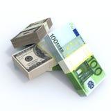 Sterty pieniądze ilustracja wektor