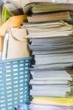 Sterty stary papier Obraz Stock