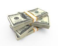 Sterty Sto Dolarowych rachunków royalty ilustracja