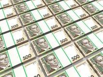 Sterty ukraiński pieniądze Obrazy Royalty Free