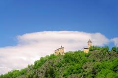 Sterzing castle Sprechenstein Stock Photos