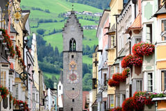 Sterzing - Vipiteno. A typical town in Alto Adige, Italy stock image