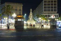 Stesicoro square Royalty Free Stock Photography
