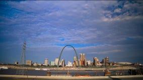 Stet Louis, Missouri horisont arkivfilmer