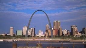 Stet Louis, Missouri horisont lager videofilmer