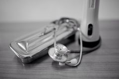 Stethoscoop Royalty-vrije Stock Fotografie
