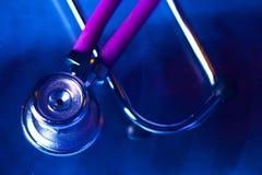 Stethoscoop Röntgenstraal Concepten 3D beeld Stock Afbeelding
