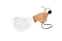 Stethoscoop ter beschikking. Stock Afbeelding