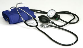 Stethoscope. On white background Royalty Free Stock Image