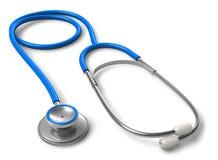 Stethoscope. Isolated over white background stock illustration