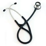 Stethoscope. The Stethoscope isolated on white Royalty Free Stock Photo