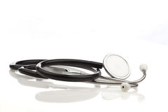 Stethoscope, acoustic medical device for listening Royalty Free Stock Photo