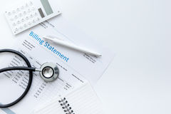 Medical Billing Stock Images - 696 Photos Doctor Stethoscope On The View