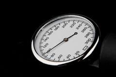 Stethoscope on black background Stock Photography