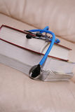 Stethoscope   on books Royalty Free Stock Images