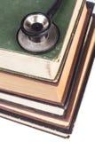 Stethoscope on Books Pile Stock Images
