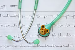 Stethoscope for Child Royalty Free Stock Images