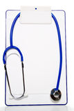 Stethoscope on a Clipboard Stock Photos
