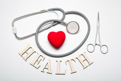 Stethoscope concept Royalty Free Stock Photography