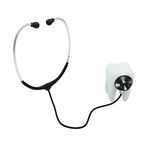Stethoscope examing the tooth Royalty Free Stock Photo