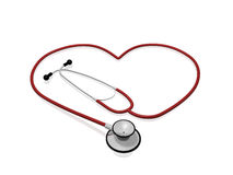 Stethoscope Heart Stock Photo