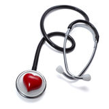 Stethoscope heart health care medicine tool Royalty Free Stock Photo