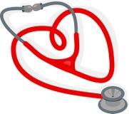 Stethoscope Heart Stock Images