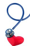 Stethoscope and a heart Stock Photography