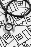 Stethoscope and House Stock Images