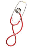Stethoscope isolated in white Royalty Free Stock Photo