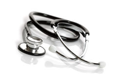 Stethoscope isolated on white background Stock Photos