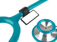 Stethoscope isolated on white Royalty Free Stock Images