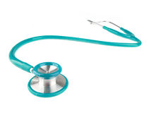 Stethoscope isolated on white background Stock Photos