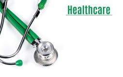 Stethoscope isolated on white background Royalty Free Stock Photo