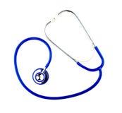 Stethoscope isolated on white Royalty Free Stock Image
