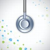 Stethoscope on Medical Background Royalty Free Stock Photography