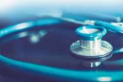Stethoscope Medical Instrument Royalty Free Stock Images