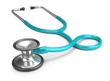 Stethoscope. Medical stethoscope. 3d image. White background royalty free illustration