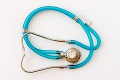 Stethoscope on money background. Expensive health treatment.  Stethoscope on money background Stock Image