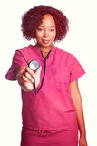 Stethoscope Nurse Woman Royalty Free Stock Photos