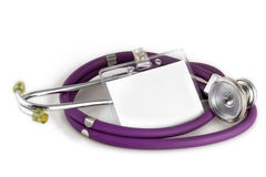 Stethoscope and Picture ID stock image