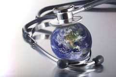 Stethoscope on planet