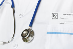 Stethoscope And Recipe Stock Images