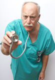 Stethoscope Sticking Out Stock Photography