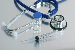 Stethoscope Tray Royalty Free Stock Image