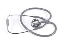 Stethoscope and velvet heart. Royalty Free Stock Image