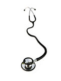 Stethoscope on white Stock Images