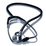 Stethoscope on white Royalty Free Stock Photo