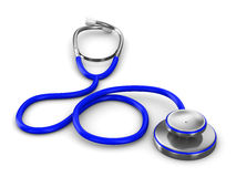 Stethoscope on a white background Royalty Free Stock Image
