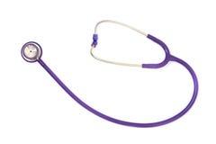 Stethoscope on a white background Stock Photos